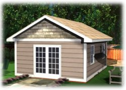 small shed